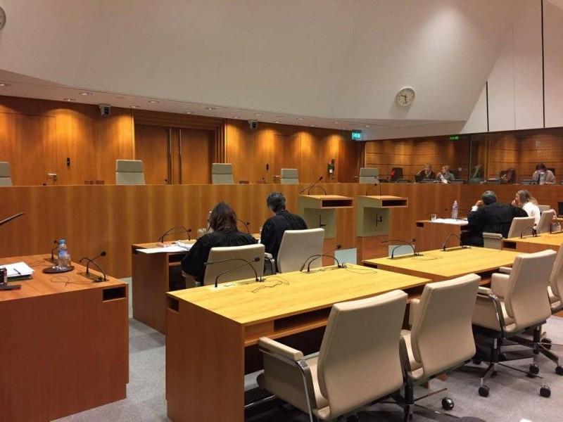 Salle d'audience du Tribunal